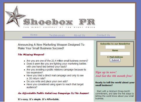 Shoe Box Public Relations Austin TX